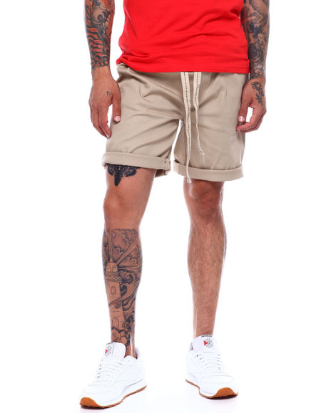 Buyers Picks - Twill Stretch Pull On Drop Crotch Short