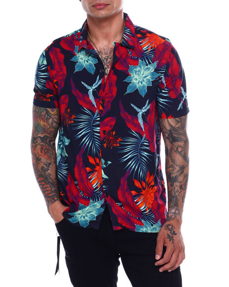 Kuwalla - Beach Shirt - TROPICAL