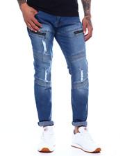 Men - Zip Thigh Moto Jean-2373791