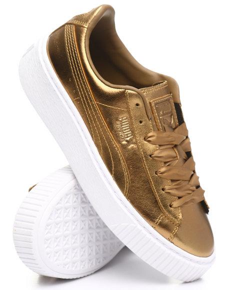 Puma - Basket Platform Luxe Sneakers