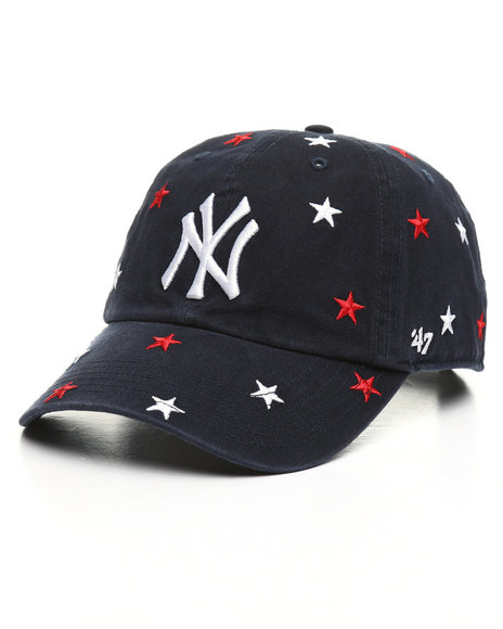 '47 - NY Yankees Confetti Clean Up Strapback Hat