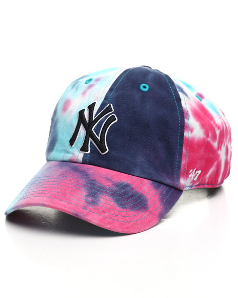 '47 - NY Yankees Marbled Clean Up Strapback Hat