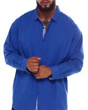 Big & Tall - L/S Solid Woven (B&T)-2374614