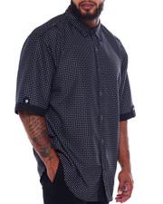 Big & Tall - Woven S/S Shirt (B&T)-2375167