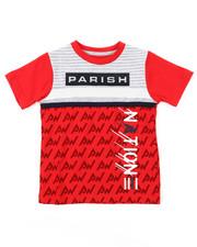 Parish - Color Block Cut Sewn Tee (4-7)-2374499