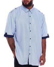 Big & Tall - Woven S/S Shirt (B&T)-2375181