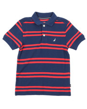 Boys - Classic Fit Striped Polo (4-7)-2374671