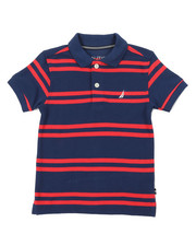 Nautica - Classic Fit Striped Polo (2T-4T)-2374667