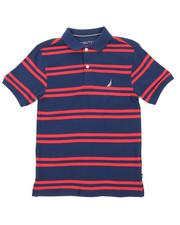Nautica - Classic Fit Striped Polo (8-20)-2374681