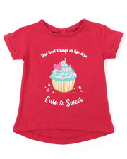 Sizes 2T-4T - Toddler - Bow Back Flip Sequin Tee (2T-4T)-2373464