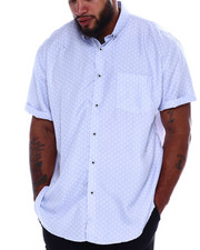 NOTHIN' BUT NET - Printed Microfiber Woven Shirt (B&T)-2375209