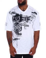 Short-Sleeve - Cut + Sew Tee W/Print + Zipper (B&T)-2375113