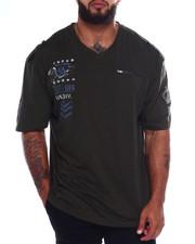 T-Shirts - Cut + Sew V-Neck S/S Tee (B&T)-2375065