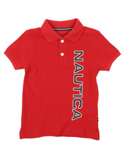Nautica - Classic Fit Oxford Polo (2T-4T)-2374594