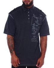 Big & Tall - Cut + Sew Polo (B&T)-2375201