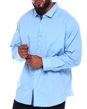 Big & Tall - L/S Solid Woven (B&T)-2374610