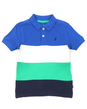 Nautica - Color Block Polo (2T-4T)-2374695