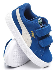 Girls - Suede 2 Straps Sneakers (5-10)-2374277