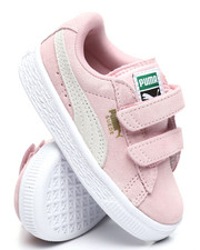 Girls - Suede 2 Straps Sneakers (5-10)-2374291