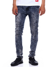 Jeans & Pants - Stretch Moto Jean w cut and Sew Detail-2375544