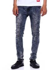 Men - Stretch Moto Jean w cut and Sew Detail-2375544