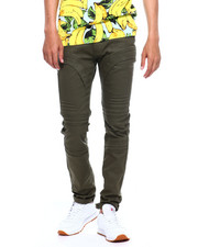 Jeans & Pants - MOTO TWILL PANT W EMBOSSED GEL INJECTION-2375672