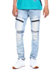 Jeans & Pants - MOTO JEAN W WATERPROOF ZIPPER DETAIL-2375556