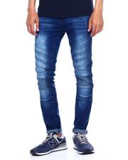 Jeans & Pants - STRIPE PANEL MOTO JEAN-2375598