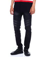 Jeans & Pants - STRIPE PANEL MOTO JEAN-2375614