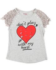 La Galleria - Flip Heart Top (7-16)-2372723