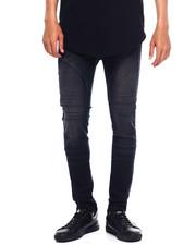 Jeans - MOTO JEAN W EMBOSSED GEL INJECTION-2375630