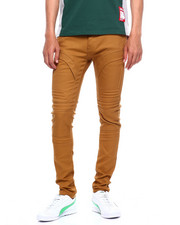Jeans & Pants - MOTO TWILL PANT W EMBOSSED GEL INJECTION-2375656
