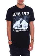 T-Shirts - Bears Beets Battlestar Galactica Tee-2375958