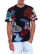 T-Shirts - GALAXY ASTRONAUT DOODLE TEE-2376287