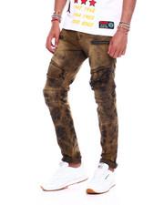 Jeans & Pants - Vintage Wash Moto Jean-2376094