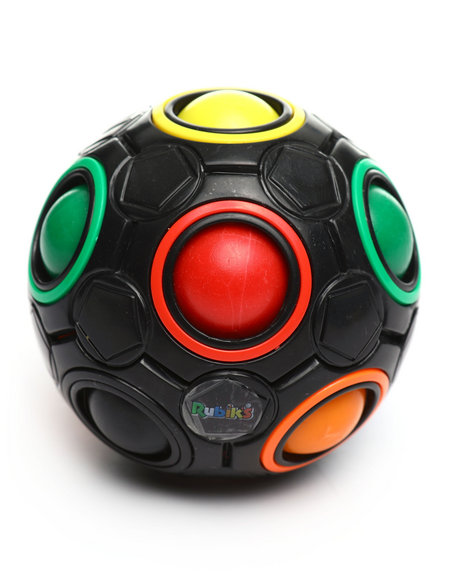 Buyers Picks - Rubik's Rainbow Ball 2.6- Inch Color Matching Puzzle