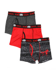 Underwear - 3 Pack Boys Boxer Briefs (8-20)-2374033