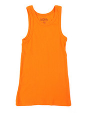 Tanks - Heavyweight Ribbed Tank Top (8-20)-2376204