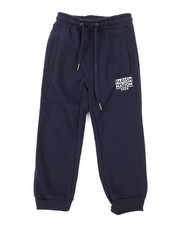 Boys - Printed Block Sweatpants (4-7)-2375815