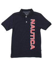 Nautica - Classic Fit Oxford Polo (8-20)-2375162