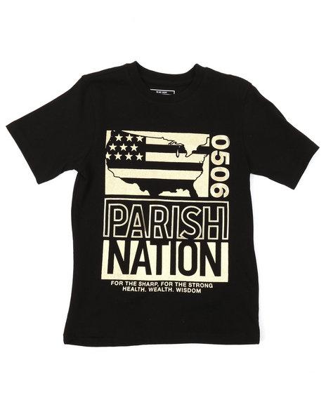 Parish - Foil Graphic Tee (8-20)