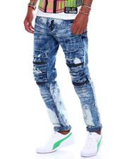 Buyers Picks - distressed knee zipper moto jean-2376087