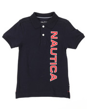 Nautica - Classic Fit Oxford Polo (4-7)-2376224
