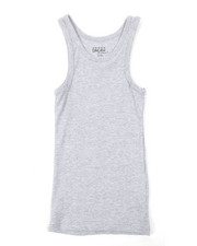 Tanks - Heavyweight Ribbed Tank Top (8-20)-2376209