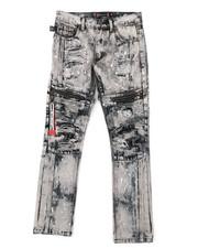 Akademiks - Zip Moto Jeans (8-18)-2376677