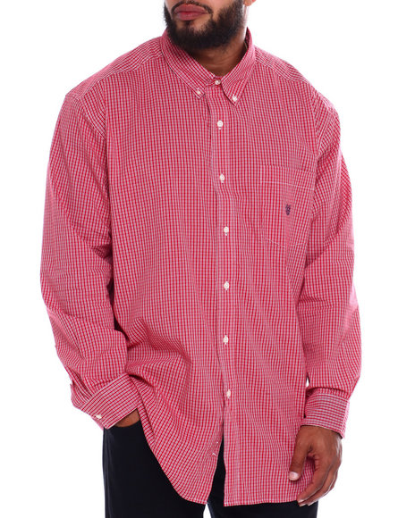 Chaps - EC Stretch-Long Sleeve-Sport Shirt (B&T)