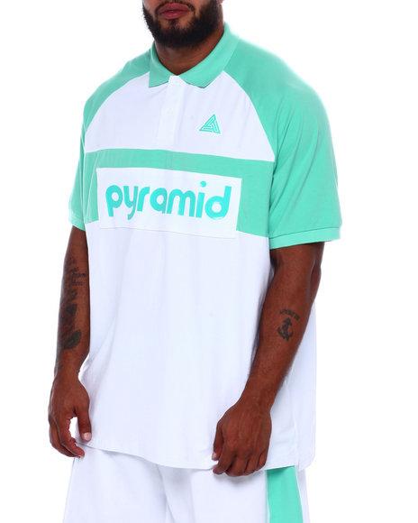 Black Pyramid - Clean Block Polo Shirt (B&T)