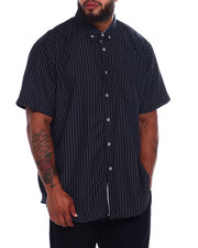 NOTHIN' BUT NET - Printed Microfiber Woven Shirt (B&T)-2376029