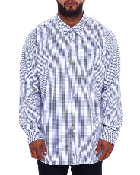 Chaps - EC Stretch-Long Sleeve-Sport Shirt (B&T)