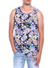 Tanks - Checkerboard and Skull Tank-2376767